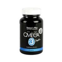 Nature's Plus Omega 3 Complex, 60 perlas|Farmaconfianza