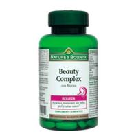 Nature's Bounty Beauty Complex con Biotina, 60 comprimidos | Farmaconfianza