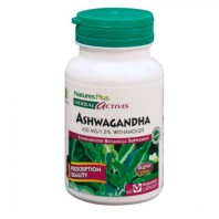 Nature's Plus Ashwagandha 450mg, 60 cápsulas|Farmaconfianza