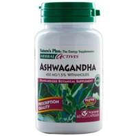 Nature's Plus Ashwagandha 450mg, 60 cápsulas|Farmaconfianza