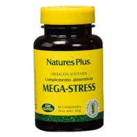 Natures Plus Mega-Stress, 30 comprimidos