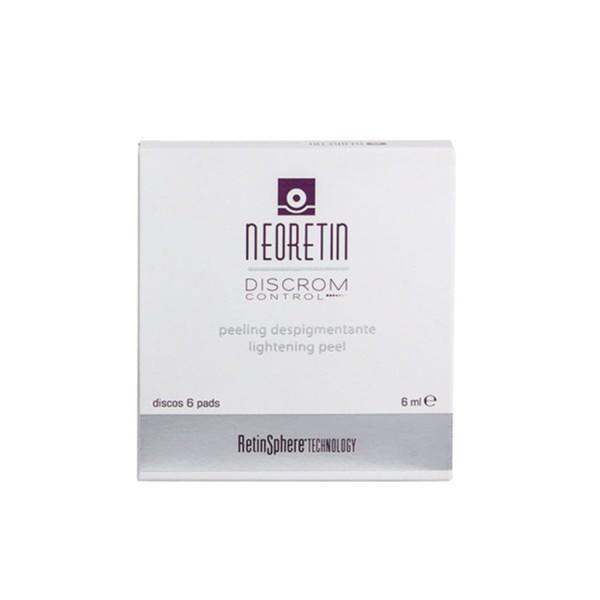 Neoretin Discrom Control Peeling Despigmentante, 6 discos   Farmaconfianza