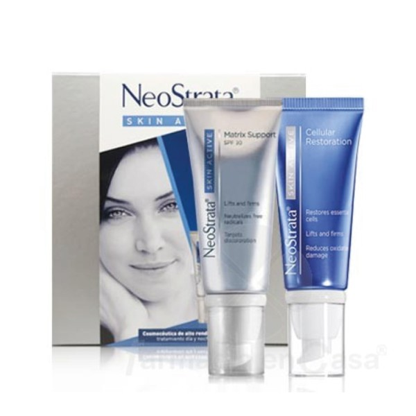 Neostrata PACK Skin Active Matrix Support Crema SPF 30, 50 ml + Cellular Restoration Crema, 50 ml