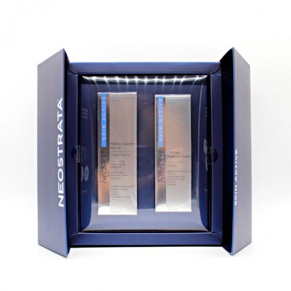 Neostrata PACK Skin Active Matrix Support Crema SPF 30, 50 ml + Dermal Replenishment Crema, 50 ml