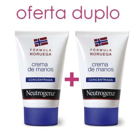 Neutrogena Crema de Manos Concentrada, Duplo 2x50 ml