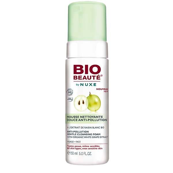 Bio Beauté by Nuxe Espuma Limpiadora Anti-Contaminación, 150 ml|Farmaconfianza