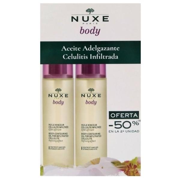 Nuxe Body Cofre Duplo Aceite Adelgazante, 100 ml+100ml ! Farmaconfianza