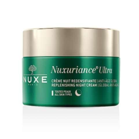NUXE Nuxuriance Ultra Crema de Noche Redensificante Antiedad Global, 50 ml.