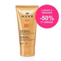 Nuxe Sun Crema Fundente de Rostro Alta Protección FPS50, 50 ml.