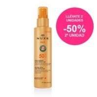 Nuxe Sun Leche Facial y Corporal SPF50 Ultra-Fundente, 150 ml