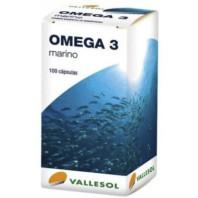 Vallesol Omega3 Marino, 100 cápsulas