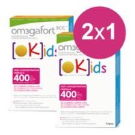 Om3gafort Kids, DUPLO 2X1: 2x30 cápsulas. | Farmaconfianza