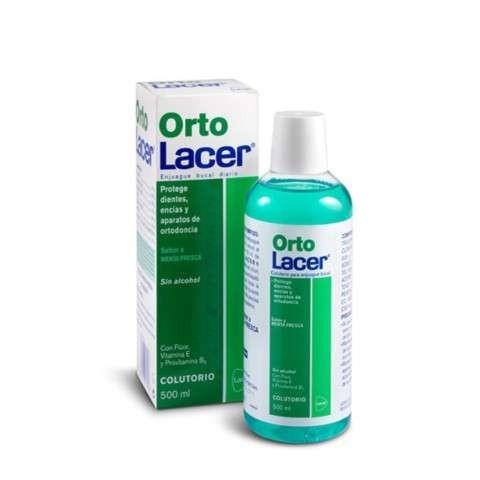 Lacer OrtoLacer Colutorio sabor menta, 500 ml