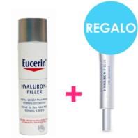 Eucerin Hyaluron Filler Pack Crema Piel Normal / Mixta 50ml + Contorno de Ojos 15ml