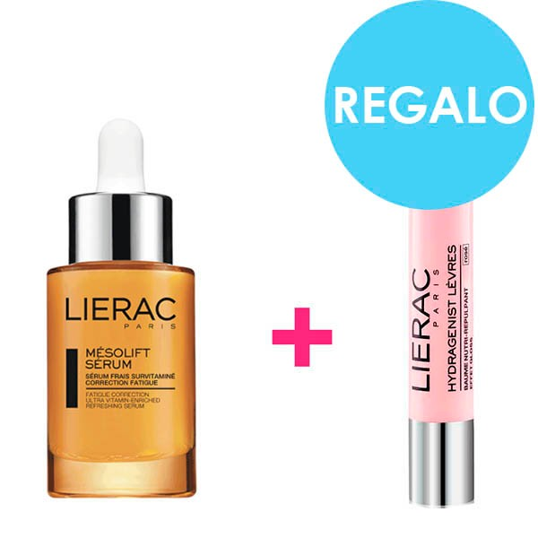 Lierac Sérum Mésolift 30 ml + Regalo Bálsamo Labial 3 g|Farmaconfianza