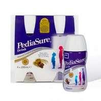 Pediasure Drink sabor Chocolate, Pack 4 botellas 200 ml.