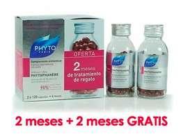 PhytoPhanere Cabellos y Uñas 120 Caps + 2 meses de tratamiento de regalo