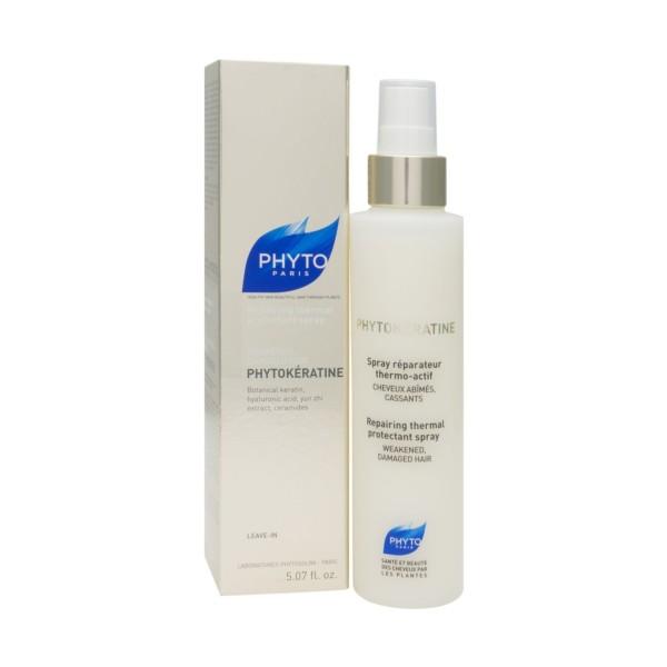 PhytoKératine Spray Reparador para cabello dañado + REGALO PhytoKératine Champú, Pack Oferta