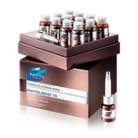 PhytoLogist 15 Tratamiento Anti-caída Absoluto Hombre y Mujer, 12 viales