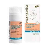 Pranarom Aromaderm Fluido Hidratante y Matificante Granitos | Farmaconfianza | Farmacia Online