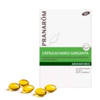 Pranarom Aromaforce Cápsulas Nariz Garganta | Farmaconfianza