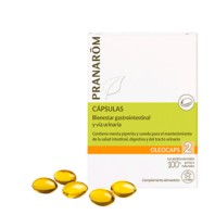 Pranarom Oleocaps 2 Gastrointestinal Urinaria, 30 cápsulas | Farmaconfianza