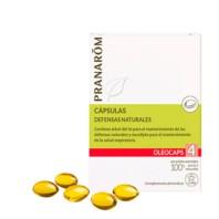 Pranarom Oleocaps 4 Defensas Naturales, 30 cápsulas