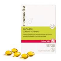 Pranarom Oleocaps 5 Confort Femenino | Farmaconfianza