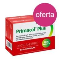 Primacol Plus Arroz de Levadura Roja, Duplo Oferta 2x30 cápsulas | Farmaconfianza
