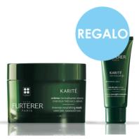 René Furterer Pack Oferta Karité Mascarilla Revitalizante Intensa, 200 ml + REGALO Karité Cuidado de Noche, 30 ml