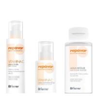 Repavar Revitalizante Pack Crema de Día + Contorno de Ojos + Agua Micelar|Farmaconfianza