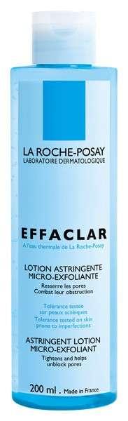 La Roche-Posay Effaclar Loción astringente Micro-Exfoliante, 200 ml