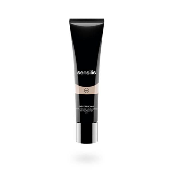 Sensilis Neverending Maquillaje Fluido 02 NOIX, 30 ml|Farmaconfianza