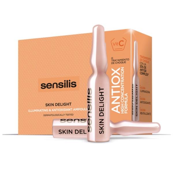 Sensilis Skin Delight Vitamina C Ampollas, 15 ampollas | Farmaconfianza