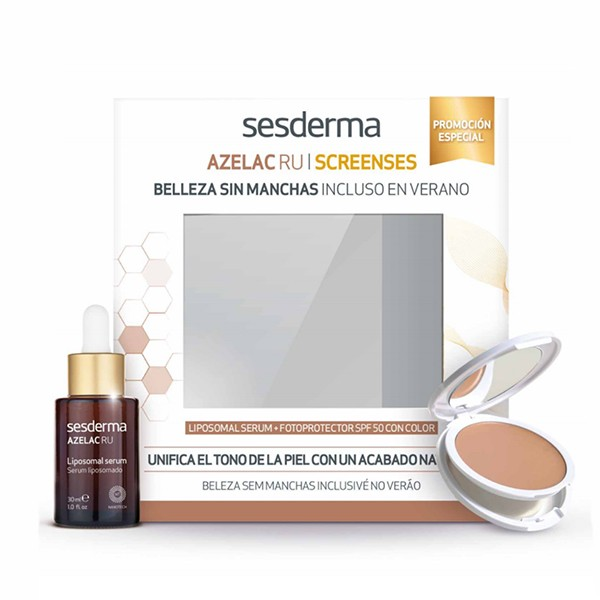 Sesderma Pack Despigmentante Azelac RU sérum 30 ml + Screenses Fotoprotector con Color | Farmaconfianza