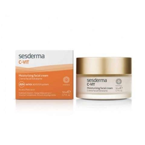 Sesderma C-vit Crema facial hidratante, 50 ml