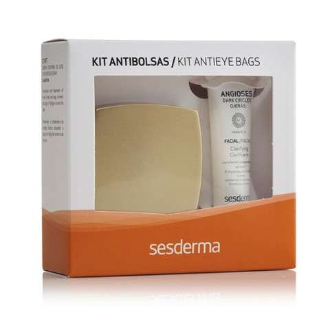 Sesderma Kit anti-bolsas Angioses gel ojeras 15 ml + C-Vit Contorno de Ojos, 15 ml.