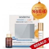 Sesderma Pack Oferta Hidratación Hidraderm Hyal Sérum 30 ml + C-Vit Crema Gel 50 ml