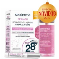 Sesderma Pack Seslash Sérum 5 ml + Desmaquillante Ojos, 100 ml