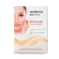 Sesderma Sesmedical Revitalize Personal Peel Program, 4 toallitas Revitalize Peel Solution + 15 ml Ultra Sealing Cream