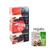 Siken Diet DUPLO Barrita de Crema de Cacao, 2 x 5 unidades
