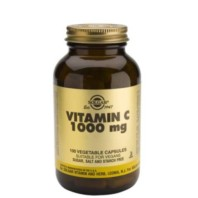Solgar Vitamina C 1000 mg, 100 cápsulas vegetales