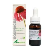Soria Natural Extracto de Equinacea 50 ml para el tratamiento y prevención del resfriado y la gripe y el refuerzo del sistema inmunitario