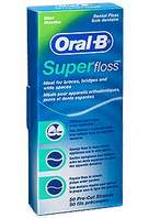 Oral B Super Floss, 50 unidades