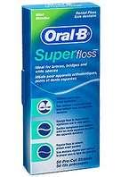 Oral B Super Floss, 50 unidades