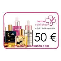 Tarjeta Regalo de 50 euros modelo cosmética