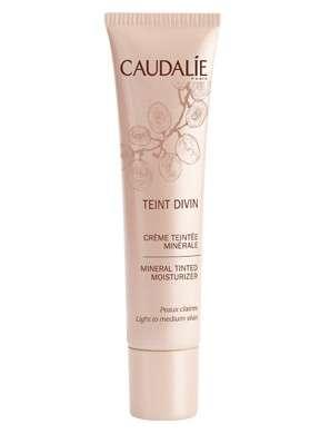 CAUDALIE Teint divin crema con color mineral pieles claras