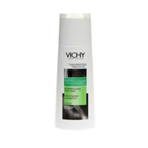 Vichy Dercos Champú Sebo-Corrector para cabellos grasos, 200 ml