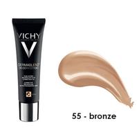 Vichy Dermablend Corrección 3D Fondo de Maquillaje tono Bronze, 30 ml