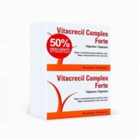 Vitacrecil Complex Forte Oferta Duplo 2x90 cápsulas | Farmaconfianza